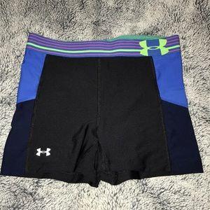 Under Armour HeatGear® Shorty Compression Shorts